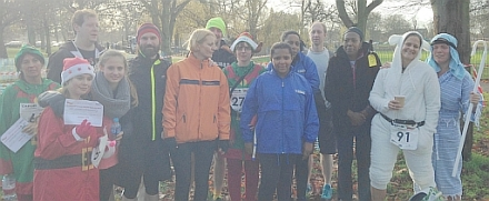 CAFOD Nativity Run December 14th 2013