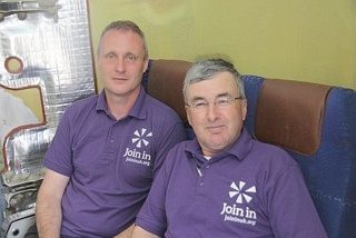 Join In London East Coordinators Paul and Phil