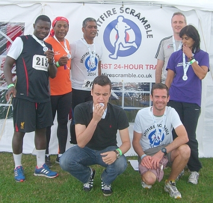 The inaugural Spitfire Scramble 24 hour team relay,