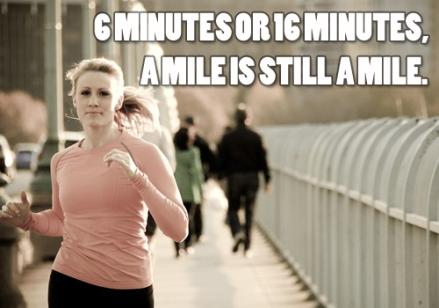still a mile