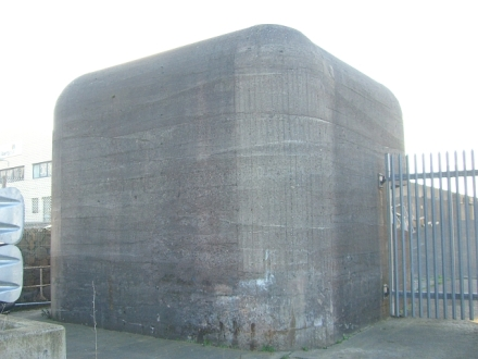old harbour pillbox