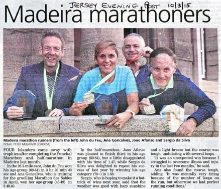 madeira marathoners