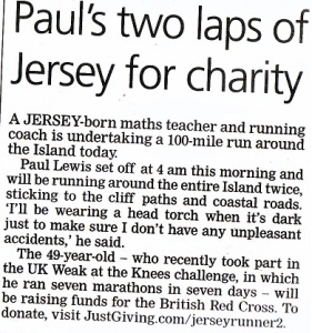 Jersey Evening Post May 8th [local newspaper]