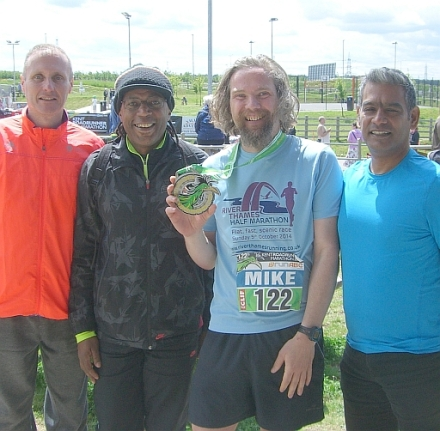 Amigos at Kent Roadrunners Marathon