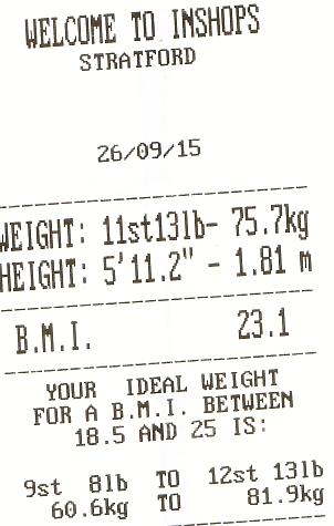 269 weight