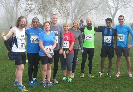 viewtube runners at Regent's Park 10K